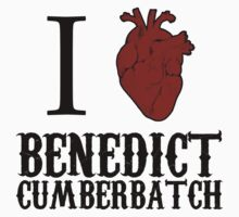 Anatomical Love - Benedict Cumberbatch by tripinmidair