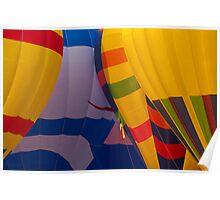 Balloon Launch at Lake Travis Poster