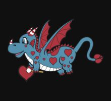 Pepper The Love Dragon T-Shirt