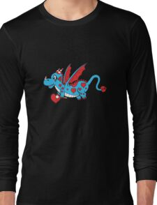Pepper The Love Dragon Long Sleeve T-Shirt