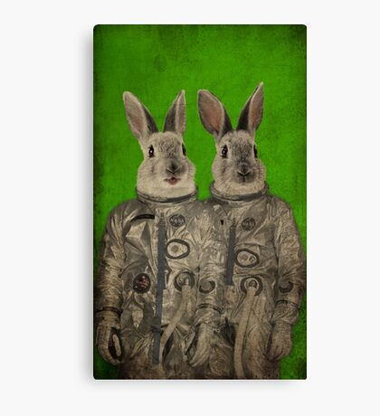 We are ready green Canvas Print
