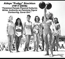 Women's Lifting Motivation - Abbye Pudgy Stockton by oolongtees