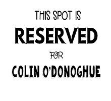 This spot is reserved for Colin O'Donoghue  by meggie1tr