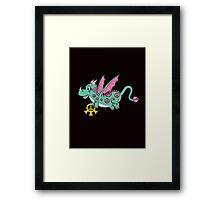 Pepper The Peace Dragon Framed Print