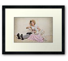 Doll series Nine Framed Print
