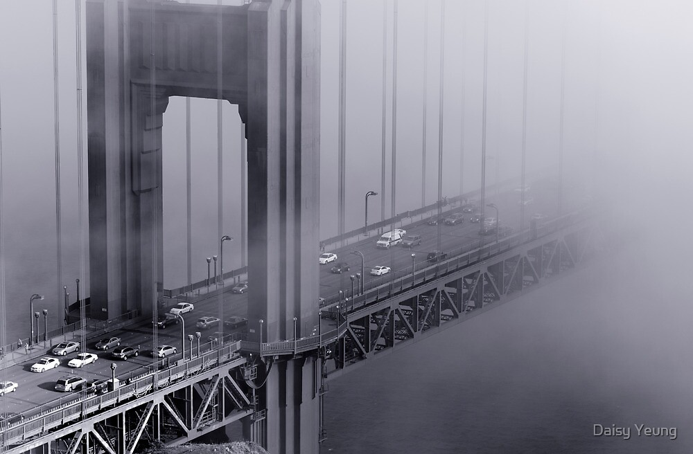 Foggy Golden Gate Bridge by Daisy Yeung