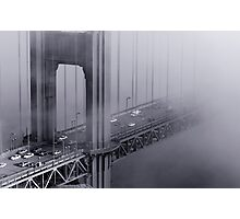 Foggy Golden Gate Bridge Photographic Print
