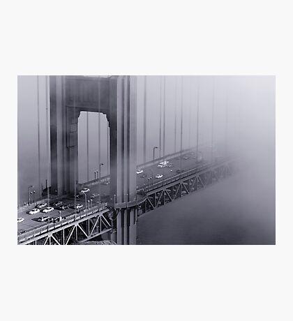 Foggy Golden Gate Bridge Photographic Print