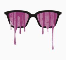 Pink Grunge Color Splatter Graffiti Backstreet Wall Background  Kids Tee