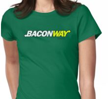 Baconway Womens Fitted T-Shirt