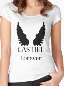 Castiel Forever Women's Fitted Scoop T-Shirt