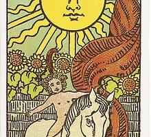 Tarot - The Sun by TexasBarFight
