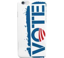 Vote Obama 2012 T Shirt iPhone Case/Skin