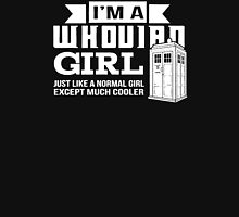 Whovian Girl Just like normal girl T-Shirt