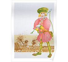 Little Tailor 4 -  Cover illust, (pen & ink, watercolour on paper) Poster