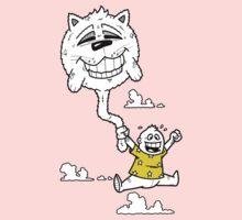 Cat Balloon One Piece - Long Sleeve