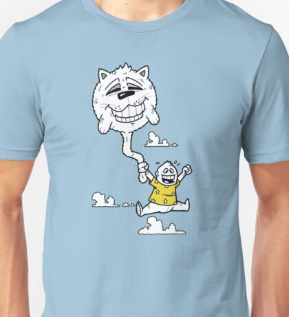 Cat Balloon Unisex T-Shirt