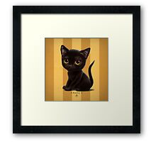 Cataclysm - Bombay Kitten - Stripes Framed Print