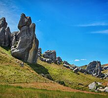 Castle Hill  by Kim Andelkovic