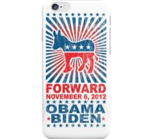 Obama Forward 2012 Shirt iPhone Case/Skin