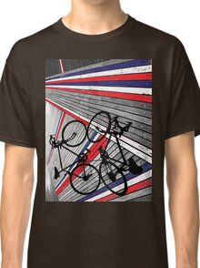 Red, White and Blue Bike Classic T-Shirt