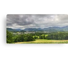 Keswick And Fells Metal Print