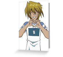 Joey hearts you Greeting Card