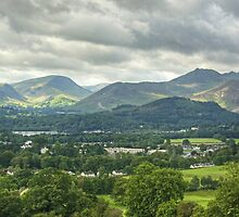 Newlands Valley &  Coledale, The Lake District by Jamie  Green