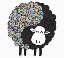 Yin Yang Sheep Baby Tee