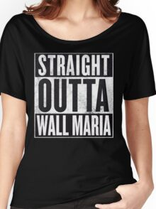 Straight Outta Wall Maria Women's Relaxed Fit T-Shirt