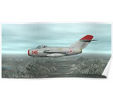 Mig-15 Poster