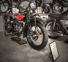1928 Indian 101 Scout by Rosalie Dale