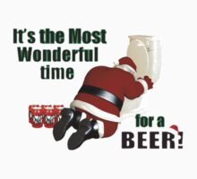WONDERFUL TIME FOR A BEER Kids Clothes