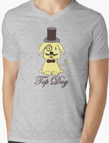 Top dog Mens V-Neck T-Shirt