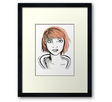 Maxine Caulfield Framed Print