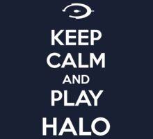 Keep calm and play Halo T-Shirt