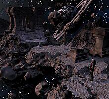 Intergalactic Ruins by Dreamscenery