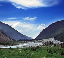 Ala Archa Valley, Kyrgyzstan by mkgolder