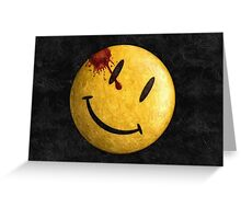 Kill the smile Greeting Card