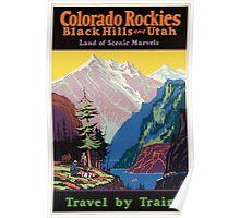 Vintage poster - Colorado Rockies Poster