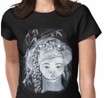 YURIS DREAM   DARK TEES BEST  TEE SHIRT.KIDS TEE.STICKER Womens Fitted T-Shirt