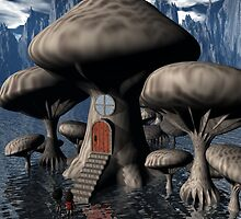 Mushroom House by Dreamscenery