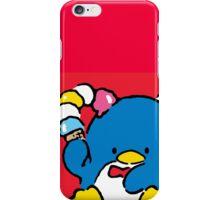 Penguin Sam with Ice Cream iPhone Case/Skin