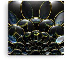 Cosmic Lens Flower (CU) Canvas Print