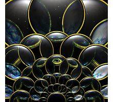 Cosmic Lens Flower (CU) Photographic Print