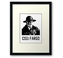 CSI - Fargo Framed Print