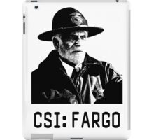 CSI - Fargo iPad Case/Skin