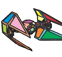 Tie Fighters Color by crazyowl