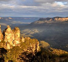 Echo Point afternoon light. by kateb86