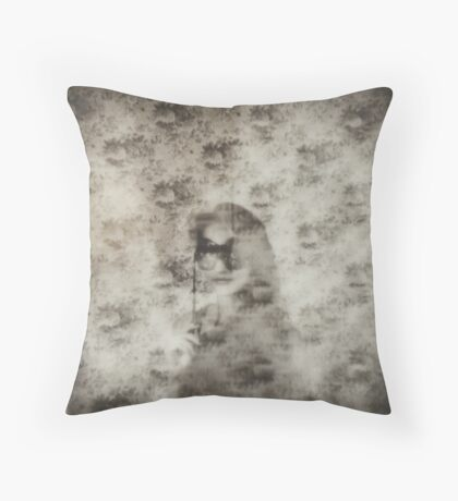 Self Amusement Throw Pillow